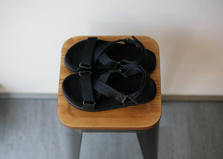 double foot wear bec 上からの写真