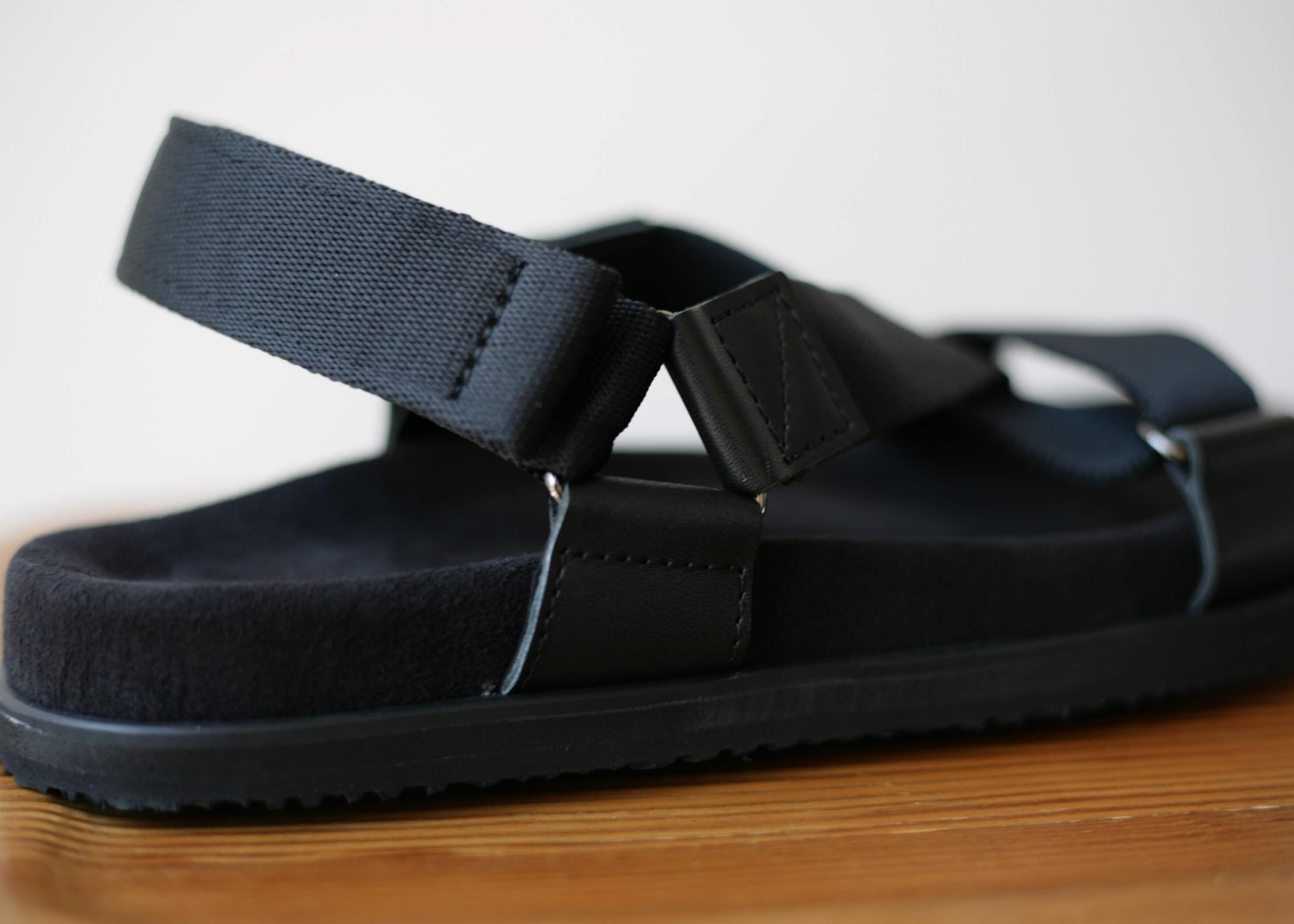 double foot wear bec アップ写真