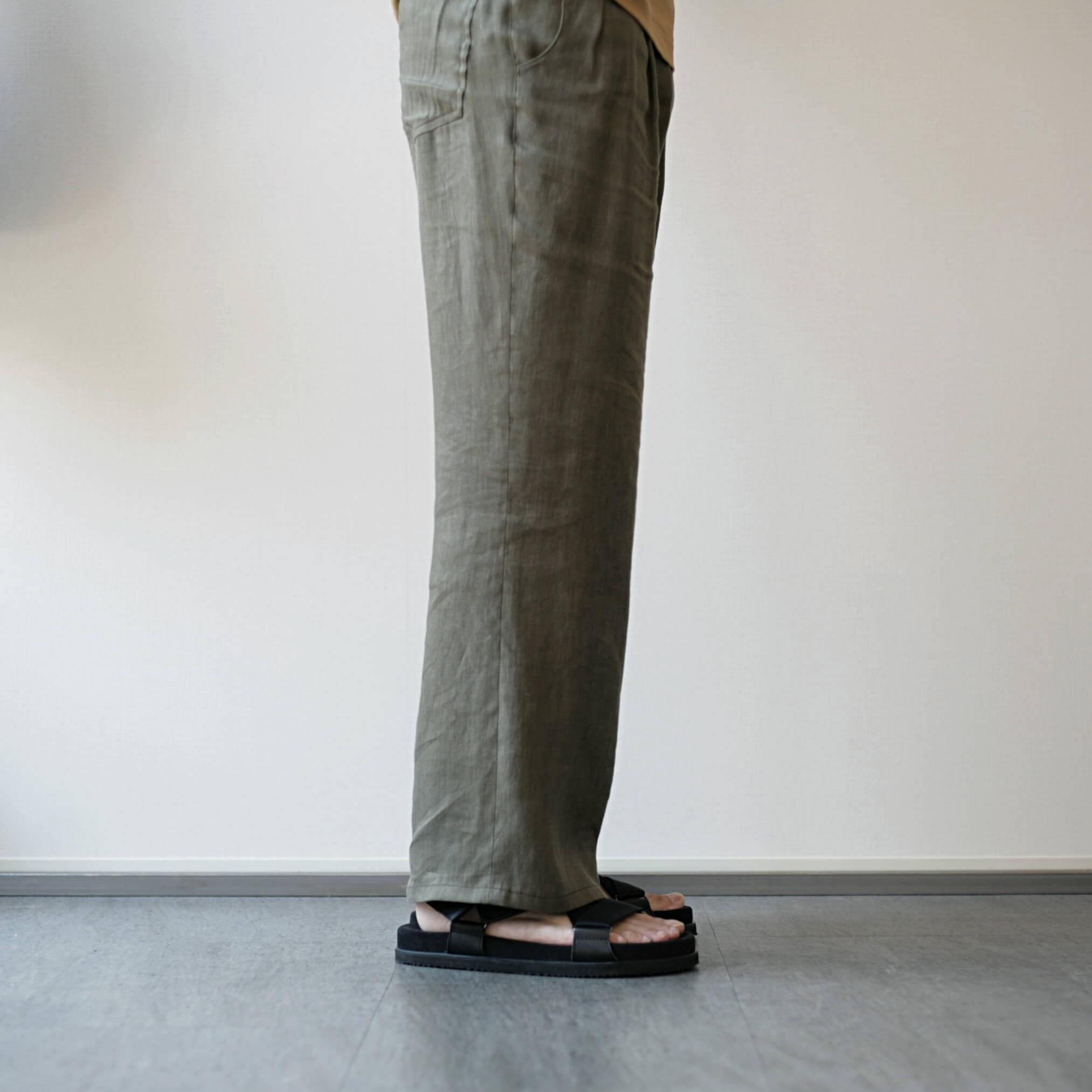 double foot wear bec 着用写真(後)