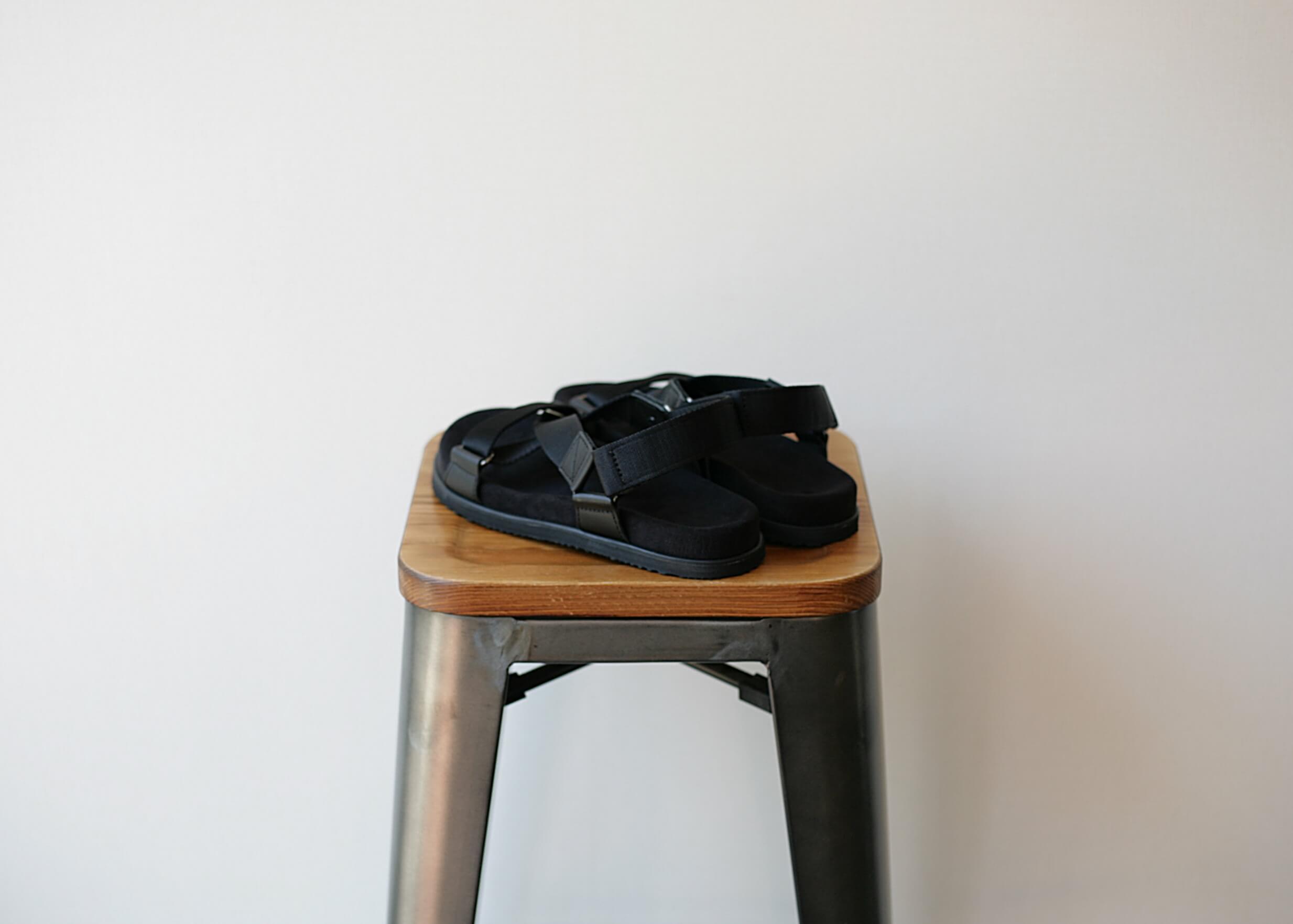 double foot wear becの斜め後ろからの写真