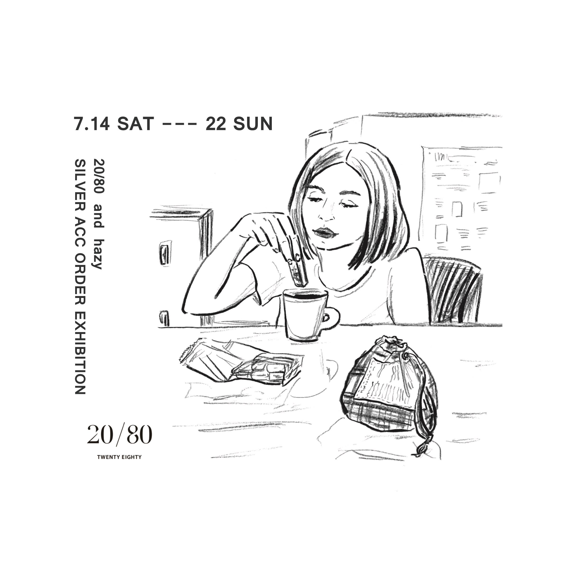 20/80 & hazyの別注アクセサリーオーダー会のお知らせ