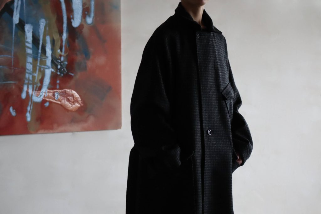 SOUMO W2MC COAT 'Houndstooth' の着用画像