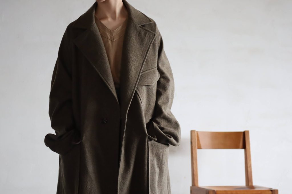 SOUMO W2MC COAT 'Brown Khaki CH' の商品画像