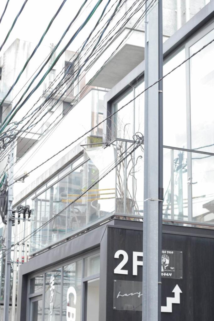 福岡セレクトショップhazyの外観です
